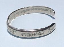 Thai Amulet LP Pern Talisman Bracelet Power Protect Luck Money Attraction Silver