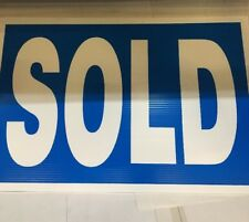 FOR  SALE-SOLD-AUTOMATIC-DIESEL-NEW ALL PLASTIC COATED SIGNS