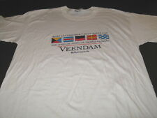 VEENDAM Holland America Cruise Ship Vintage Ports of Call T-Shirt New NWT XXL 2X