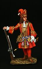 Tin soldier, Collectible, Officer Foot Grenadiers, Russia, 1710, 54 mm, Russia