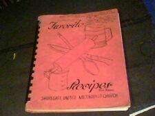 1982 Favorite Recipes  by Shoregate United Methodist Church, Willowick, Ohio s12