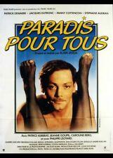 affiche du film PARADIS POUR TOUS 40x60 cm