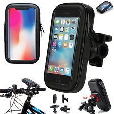 Bici bicicleta Mount Holder teléfono caso bolsa para iPhone 6 6S 7 8 10 XS 5 5S SE X 5C