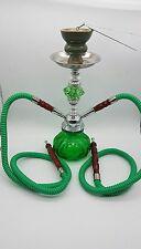 """12"""" Double Pipe HOOKAH SMOKING SHEESHA SHISHA NARGILA PIPE 4  COLOUR BOXED"""