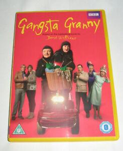 GANGSTA GRANNY BBC DVD David Walliams/Joanna Lumley/Rob Brydon