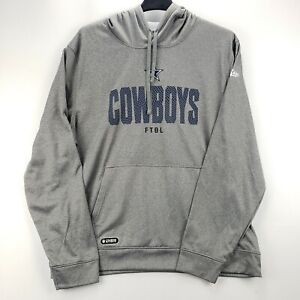 NEW Dallas Cowboys Football NFL Apparel Combine Authentic Hoodie Sweatshirt 2XL