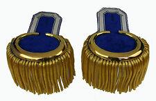 Parade Epauletten Achselstücke Uniform Preussen Kaiserreich Shako LARP DR RSP135