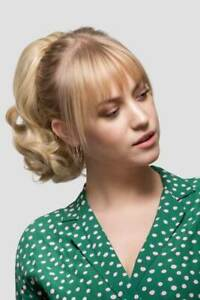 Stranded Short Curly ponytail hairpiece