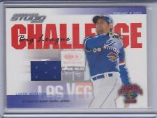 LANCE BERKMAN 2003 Studio Big League Challenge Materials Jersey #BLC-4 (C3692)