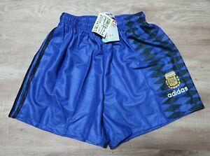 Argentina 100% Original Soccer Shorts 1994 World Cup Still NWT NEW Talle 3 Rare