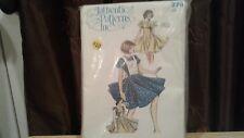 Vintage Ladies Square Dance Dress Pattern Authentic Patterns Inc Sz  5-7-9