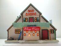 Hearthside Village Porcelain Lighted House Lemax 1997 Village Chalet  Complete