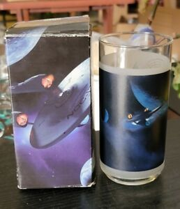 Vintage Star Trek Collectible Glass 2008 Theater Only Promo Kirk
