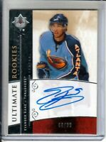 2009-10 Ultimate Collection #141 Evander Kane RC AUTO /99 - Atlanta Thrashers