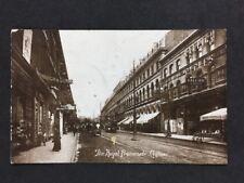 More details for vintage postcard: #tp145: the royal promenade: clifton bristol