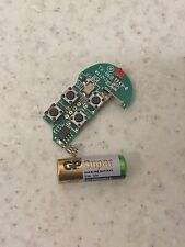 Visonic MCT-234 Keyfob Replacement Circuit Board 868 MHz & Battery - New