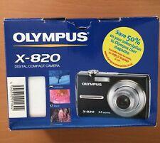 Olympus µ 820 8.0MP Digital Camera - Midnight black