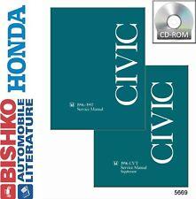 1996 1997 Honda Civic Shop Service Repair Manual CD Engine Drivetrain Electrical
