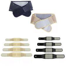 Neoprene Lower Back Support Belt Brace Posture Pain Relief Adjustable Strap
