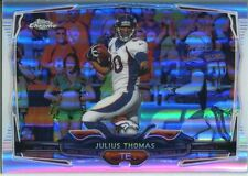 Topps Chrome Football 2014 Refractor Card #12 Julius Thomas - Denver Broncos