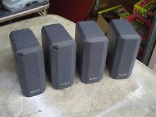 4 - Sony SS-V230 Bookshelf Gray Satellite Stereo Speakers