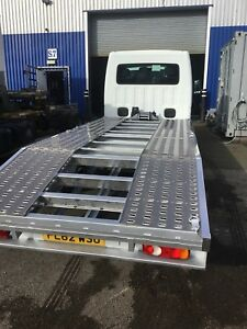 NEW Full Aluminium Recovery Body FOX Alloy Beavertail bed Car Transporter