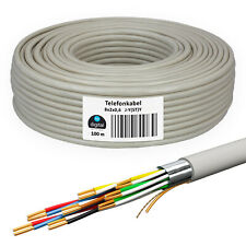 Telefonkabel 100m 8 x 2 x 0,6 JYSTY verlegekabel Telefonleitung  Kabel 16 Adern
