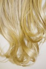 "18"" Synthetic Heat Resistant Dream Fiber Clip In Hair Extensions - Blonde"