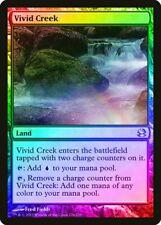 Vivid Creek FOIL Modern Masters HEAVILY PLD Land Uncommon MAGIC CARD ABUGames