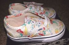 Vans x Disney Authentic Ariel The Little Mermaid Princess Toddler Baby Shoes 4.5