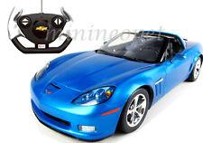 RASTAR R/C RADIO REMOTE CONTROL CAR CHEVROLET CORVETTE C6 GS 1/12 BLUE