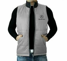 Mercedes Benz VEST Mens Embroidered logo Jacket Сlothing Auto Car Gift Apparel