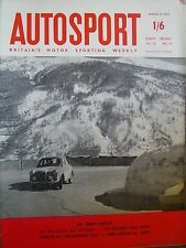 Autosport March 6th 1959 *Sestriere Rally*