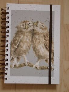 Gorgeous WRENDALE A5 Spiral Notebook 'BIRD OF A FEATHER' - Owl - NEW