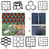 Reusable Grid Path Floor Mould DIY Maker Garden Lawn Paving Concrete Brick Mold