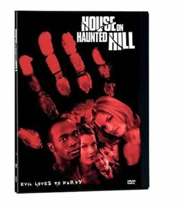 HOUSE ON HAUNTED HILL (1999) GEOFFREY RUSH DVD REGION 1 NEW & SEALED