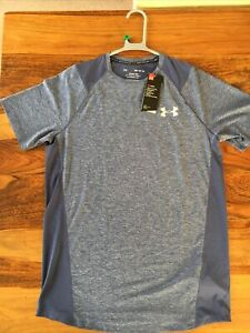 Under Armour  Men's Exercise MK1 T-Shirt. Blue. Medium. New With Tags.