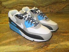 2013 Nike Air Max 90 OG iD SZ 11 White Laser Blue Zen Grey Aaron Prm 455686-993