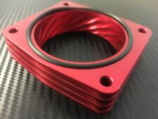 RED Throttle Body Spacer for 2007 - 2014 Nissan ALTIMA 3.5l v6