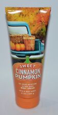 1 BATH & BODY WORKS SWEET CINNAMON PUMPKIN ULTRA SHEA CREAM HAND LOTION 8 OZ