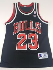 Champion Jersey Bulls #23 Michael Jordan Size 36 Small Black