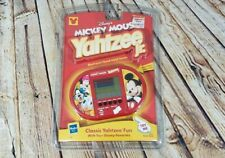 Yahtzee Jr Mickey Mouse Electronic Handheld Game Disney Hasbro 2000 - NEW SEALED