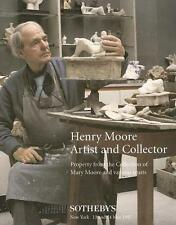 Sotheby's Herny Moore Collection Auction Catalog 1997