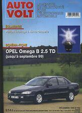 (11A) AUTO VOLT OPEL OMEGA B 2.5 TD Décembre 1999 n°762