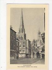 Chichester, The Market Cross & Spire, Tuck Postcard, A805