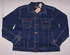 Giubbino WRANGLER Jacket JEANS giubbetto BLUE BLACK Tg.XL
