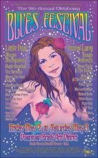 JONNY LANG SUSAN TEDESCHI LITTLE FEAT Original 2003 Tulsa Concert Poster Signed