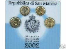 2002 minikit 4 monete EURO San Marino san marin