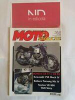 MOTO STORICHE & D'EPOCA 70 FEBBRAIO 2002 - HONDA CB 77 92  KAWASAKI 750 MACH IV