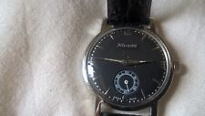 NIVADA  WATCH MILITARY BLACK   DIAL MECCANICO FUNZIONANTE